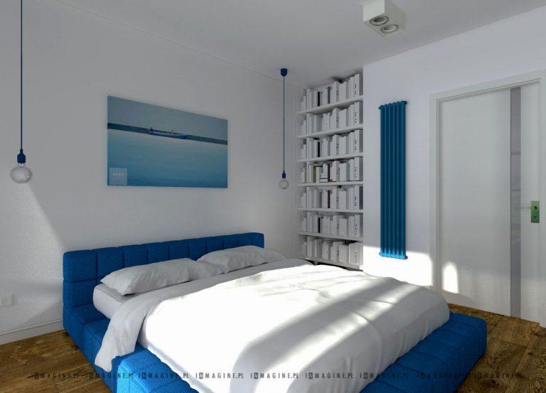 inmagine » Dwupoziomowy apartament 84 mkw Qbik Woronicza