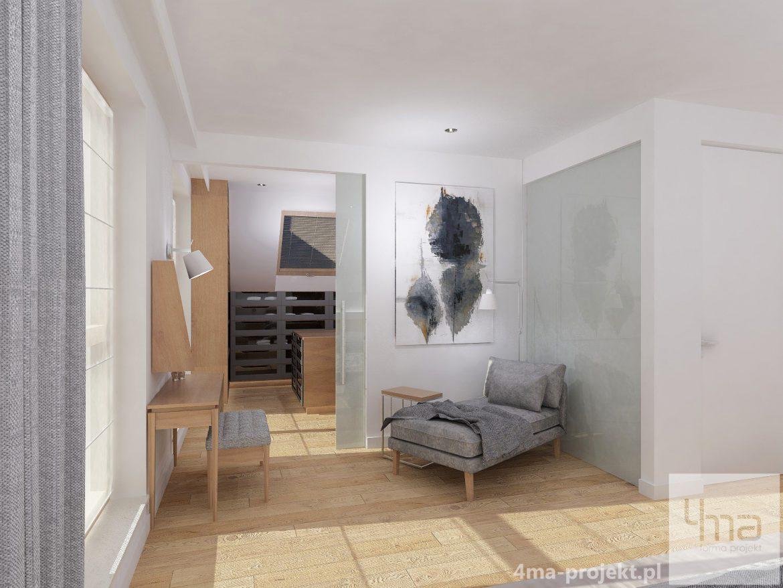 4maprojekt » Dom w Wilanowie 220 m2