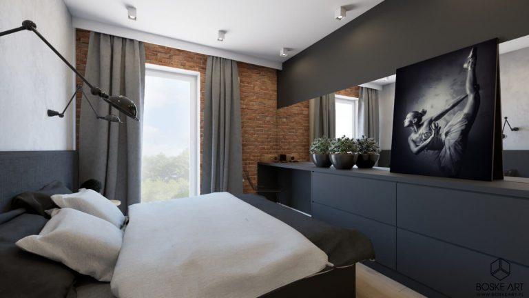 boskeart » Czarno-białe mieszkanie w Poznaniu