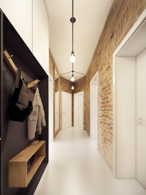 Inspirujące Aranżacje Wąskiego Przedpokoju M Mieszkanie